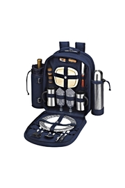 Picnic at Ascot  Insulated Backpack - Front cropped