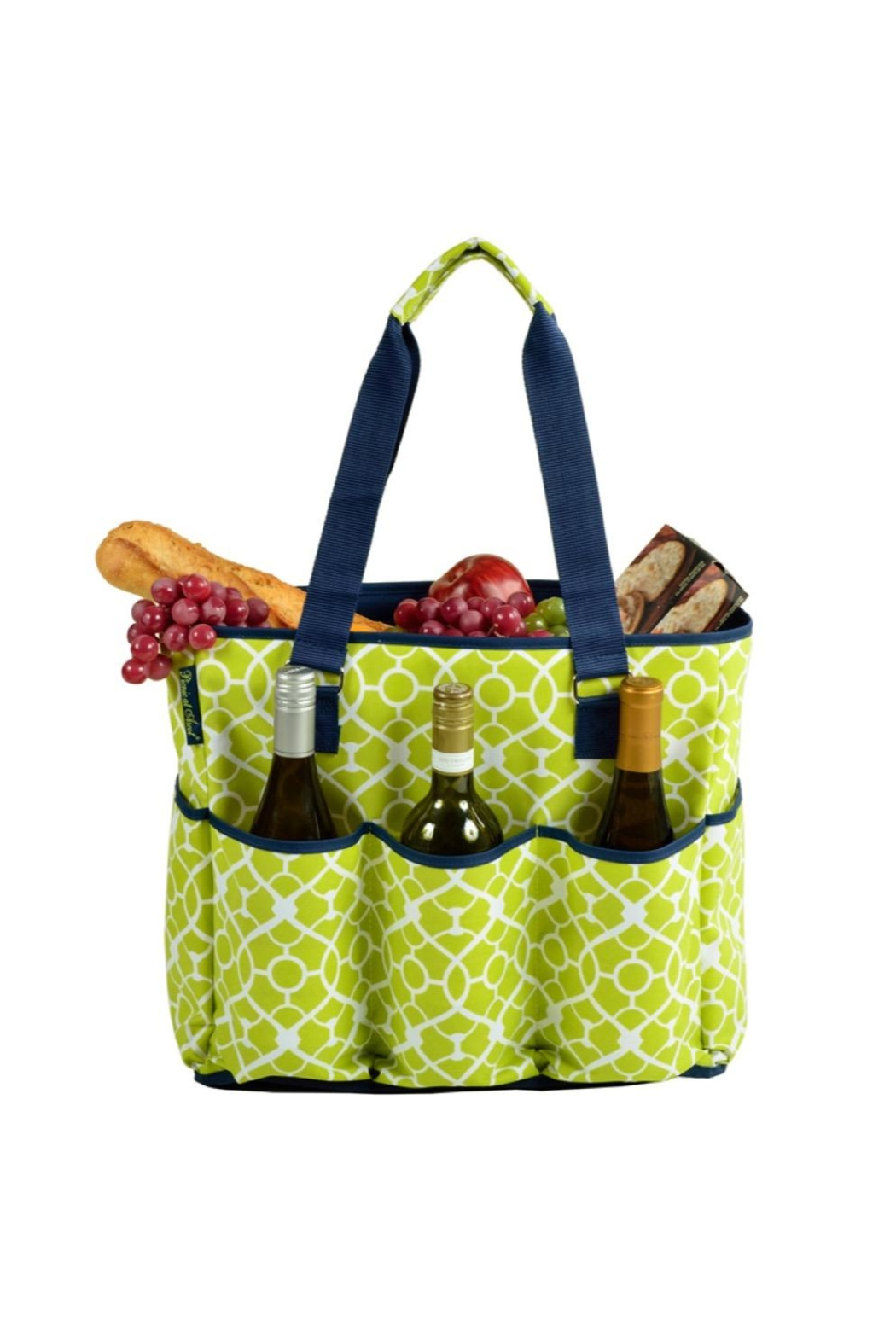 Picnic at Ascot  Insulated Cooler Tote - Front Full Image