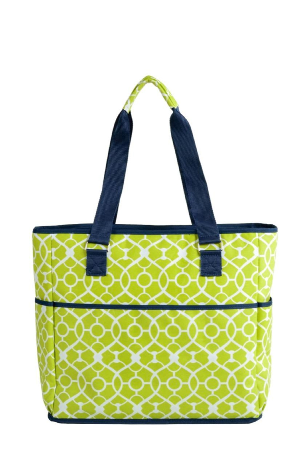 Picnic at Ascot  Insulated Cooler Tote - Back Cropped Image