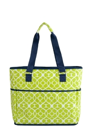 Picnic at Ascot  Insulated Cooler Tote - Back cropped