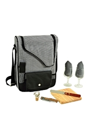 Picnic at Ascot  Insulated Wine Tote - Side cropped