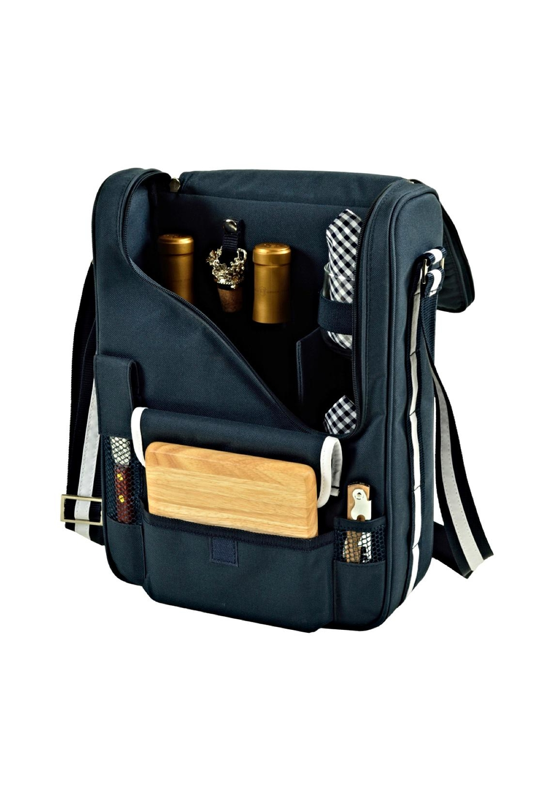 Picnic at Ascot  Insulated Wine Tote - Main Image