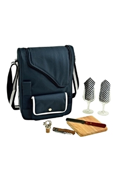 Picnic at Ascot  Insulated Wine Tote - Alternate List Image