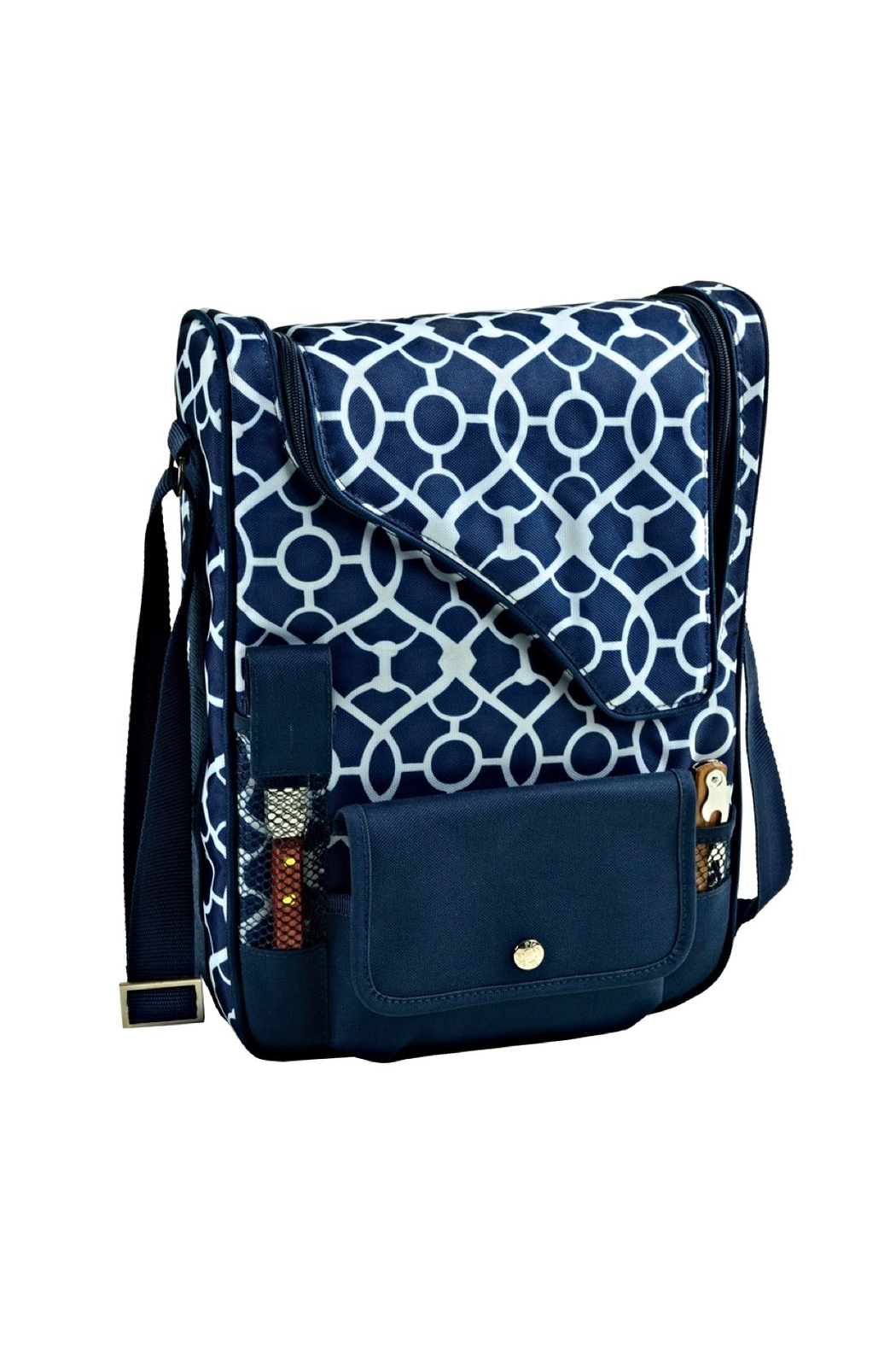 Picnic at Ascot  Insulated Wine Tote - Front Full Image