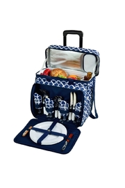 Picnic at Ascot  Rolling Picnic Cooler - Product Mini Image