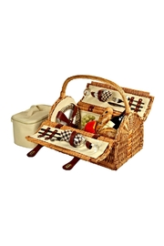 Picnic at Ascot  Wicker Picnic Basket - Front cropped
