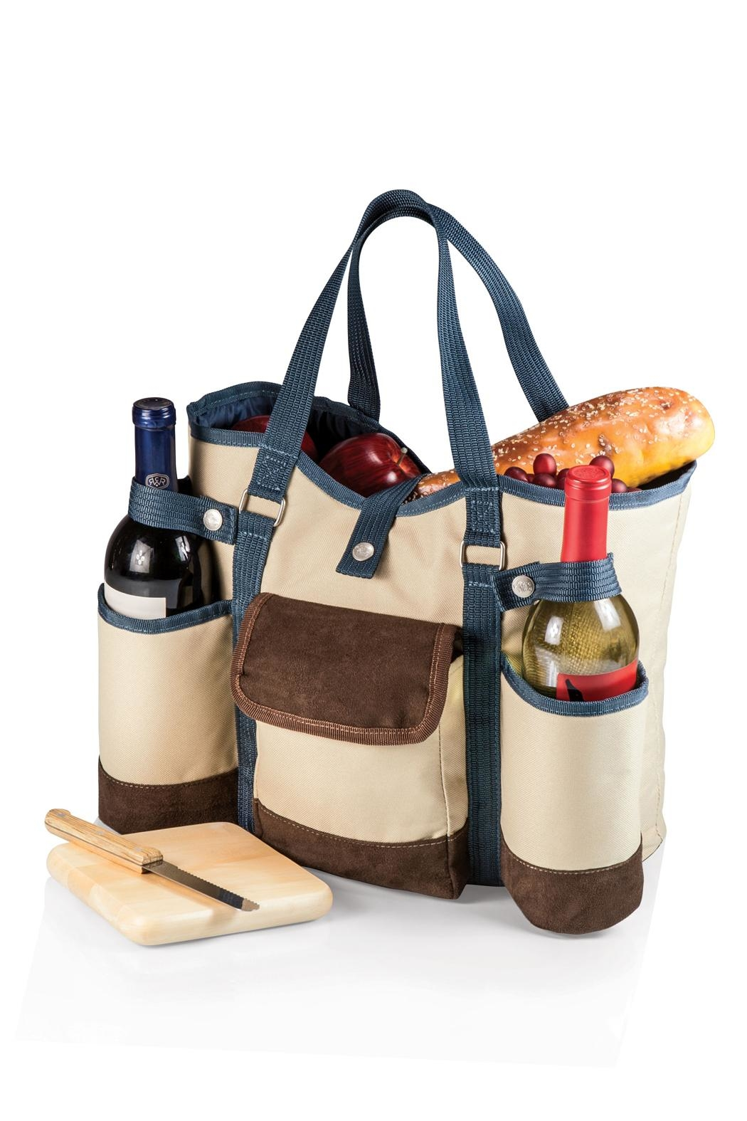 Picnic Time Country Wine Tote - Main Image