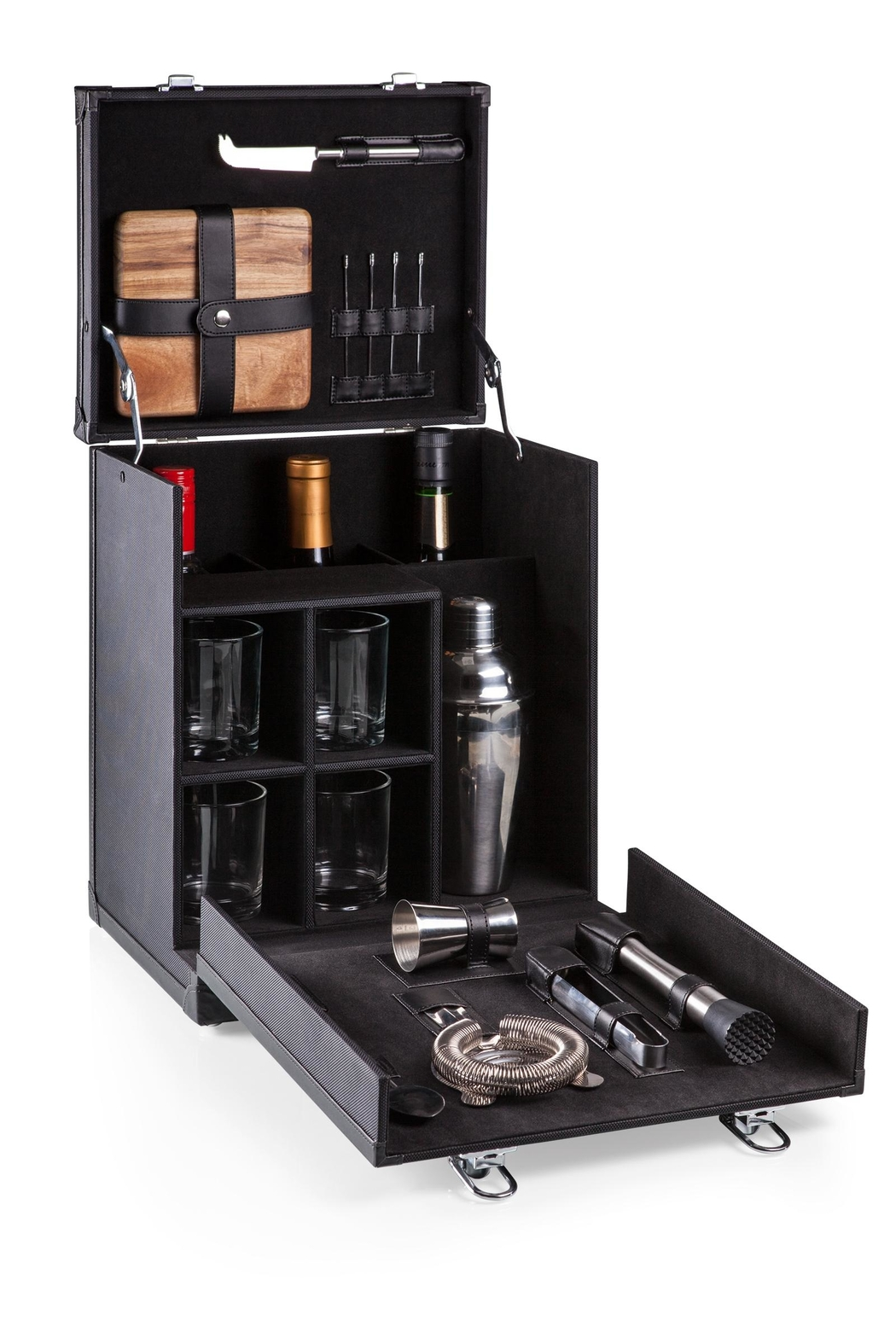 Picnic Time Portable Travel Bar - Front Full Image