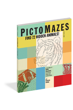 Workman Publishing PictoMazes Find 72 Hidden Animals! - Product List Image