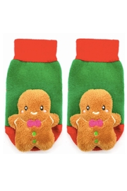 Piero Liventi Gingerbread Rattle Socks - Product Mini Image