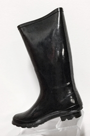 Pierre Dumas Buckled Rain Boots - Front cropped