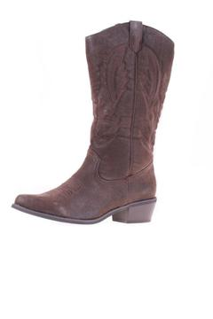 Pierre Dumas Cowgirl Brown Boots - Alternate List Image