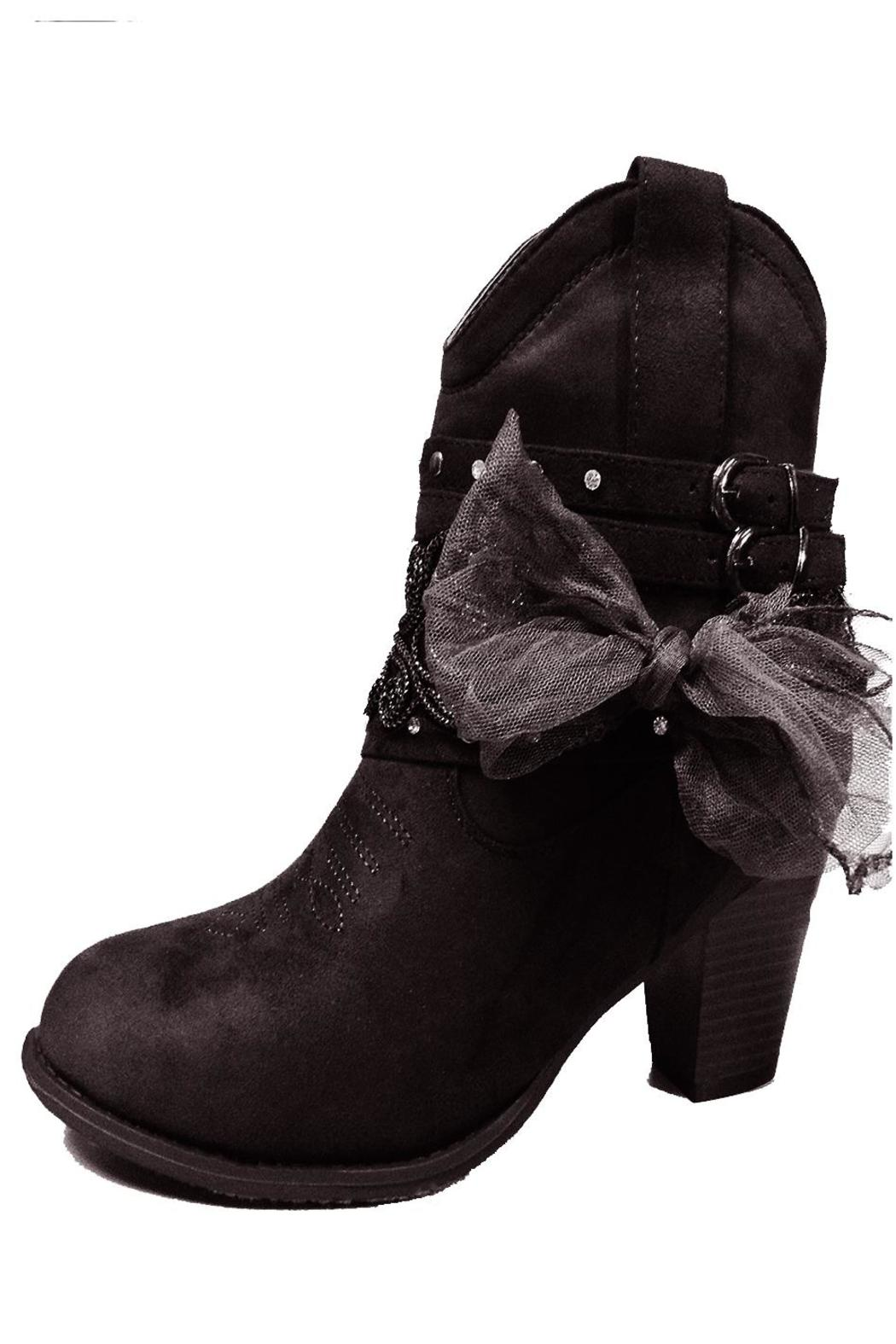 Pierre Dumas Lowcut Cowgirl Booties - Main Image