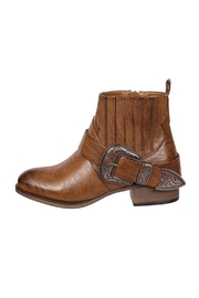 Pierre Dumas Tabby Western Bootie - Front cropped