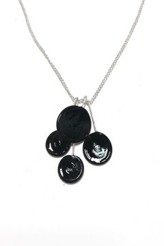Verre Modern Piet-Cluster Glass Necklace - Product List Image