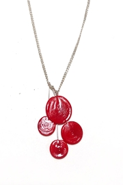 Verre Modern Piet-Cluster Glass Necklace - Product Mini Image