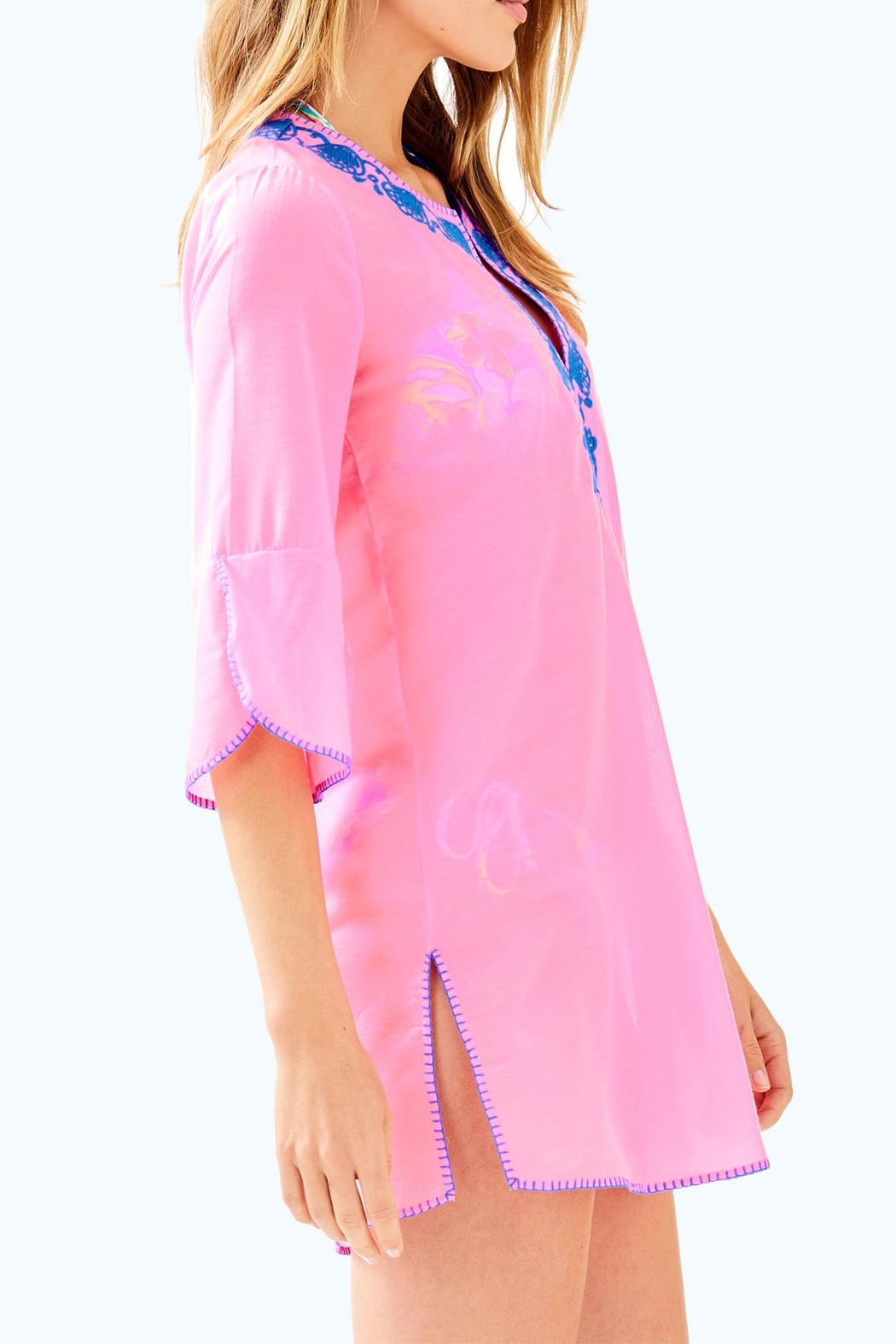 Lilly Pulitzer Piet Cover Up - Side Cropped Image