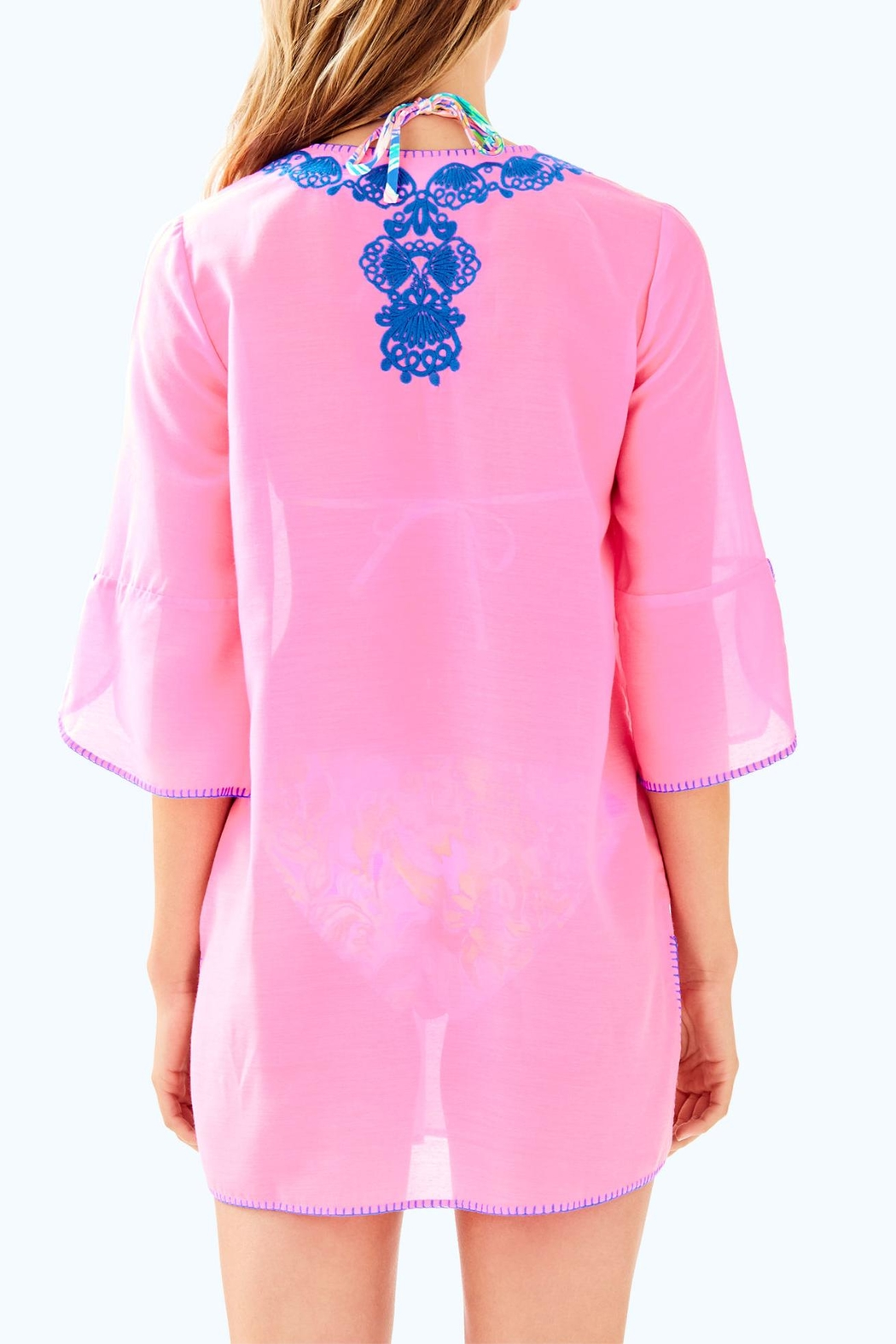 Lilly Pulitzer Piet Cover Up - Front Full Image