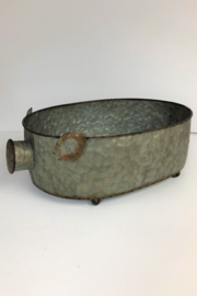 Manual Woodworkers and Weavers Metal Pig Bowl - Front cropped