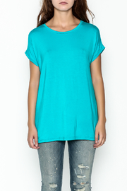 Piko  Bright Blue Top - Front full body