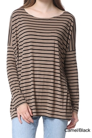 Piko  Striped Long Sleeves - Front cropped