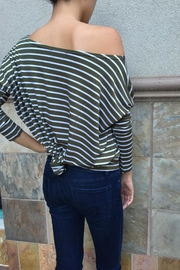 Piko  Striped Long Sleeves - Front full body