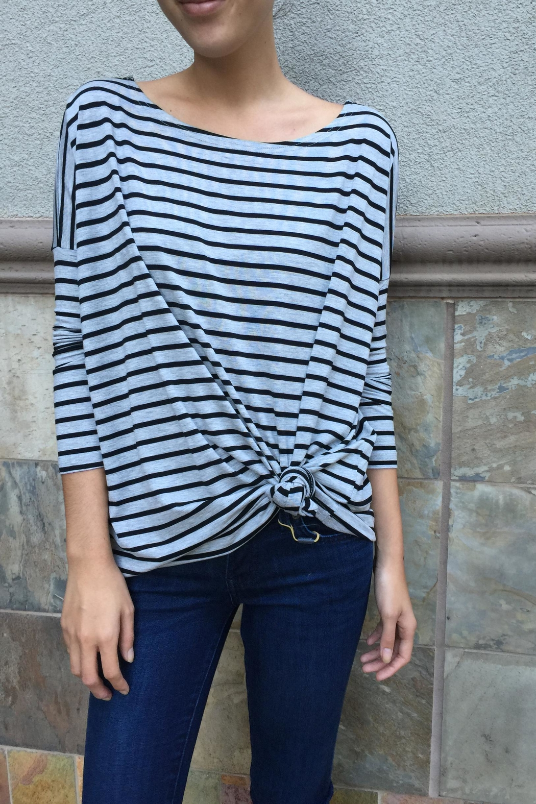 Piko  Striped Long Sleeves - Front Full Image