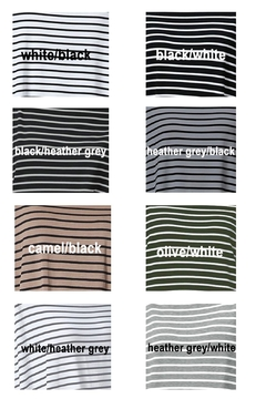 Piko  Striped Long Sleeves - Alternate List Image