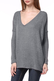 Piko 1988 Rosa V-Neck Sweater - Product Mini Image