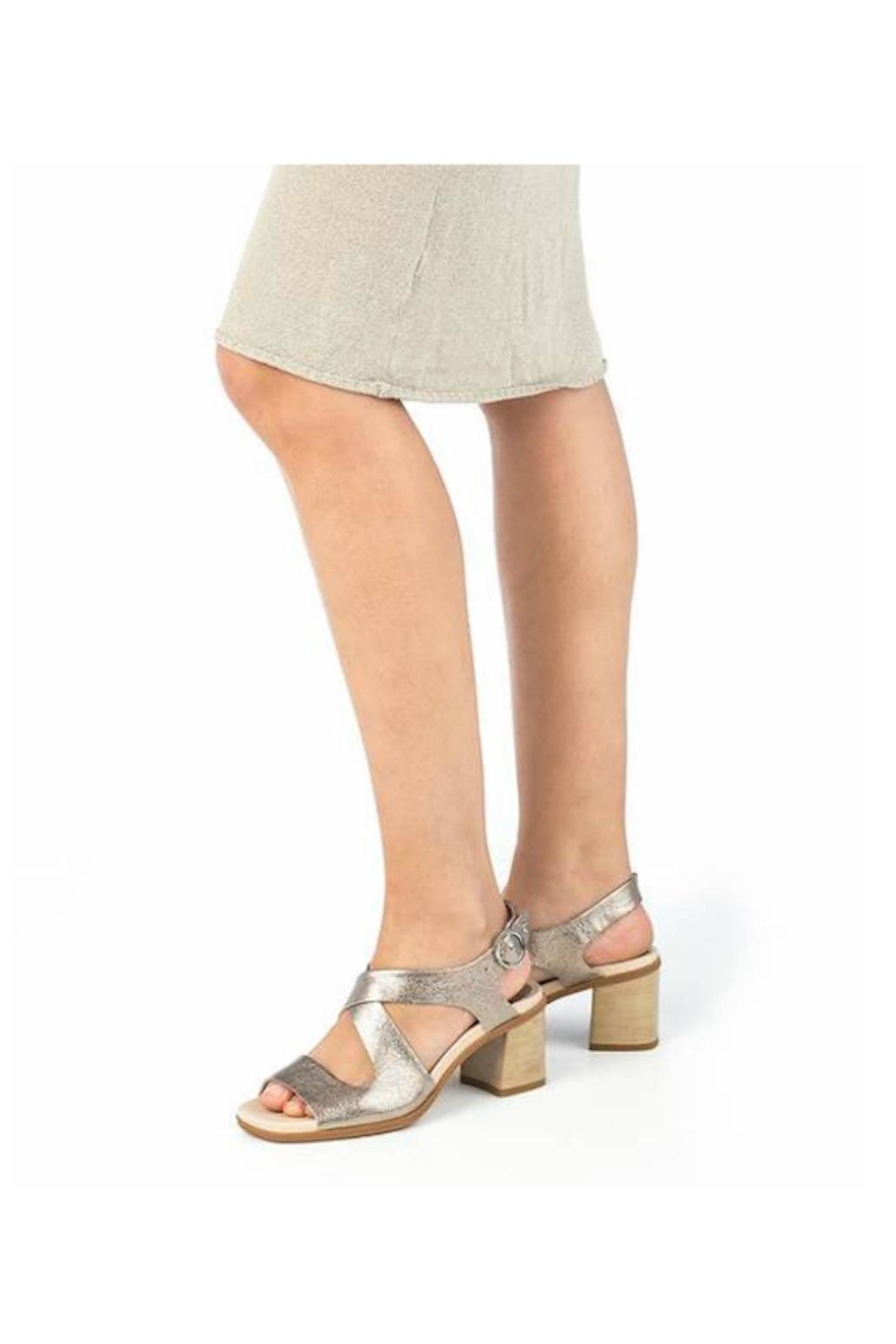 Pikolinos Denia Criss-Cross Sandal - Back Cropped Image
