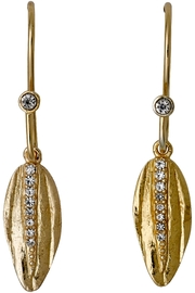 Pilgrim Bohemian Gold-Plated Earrings - Product Mini Image
