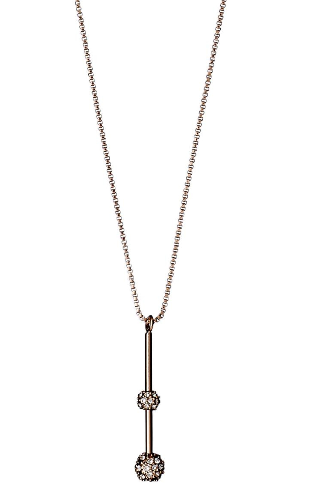 Pilgrim Carlyn Rose-Gold-Plated Necklace - Main Image
