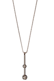 Pilgrim Carlyn Rose-Gold-Plated Necklace - Front cropped
