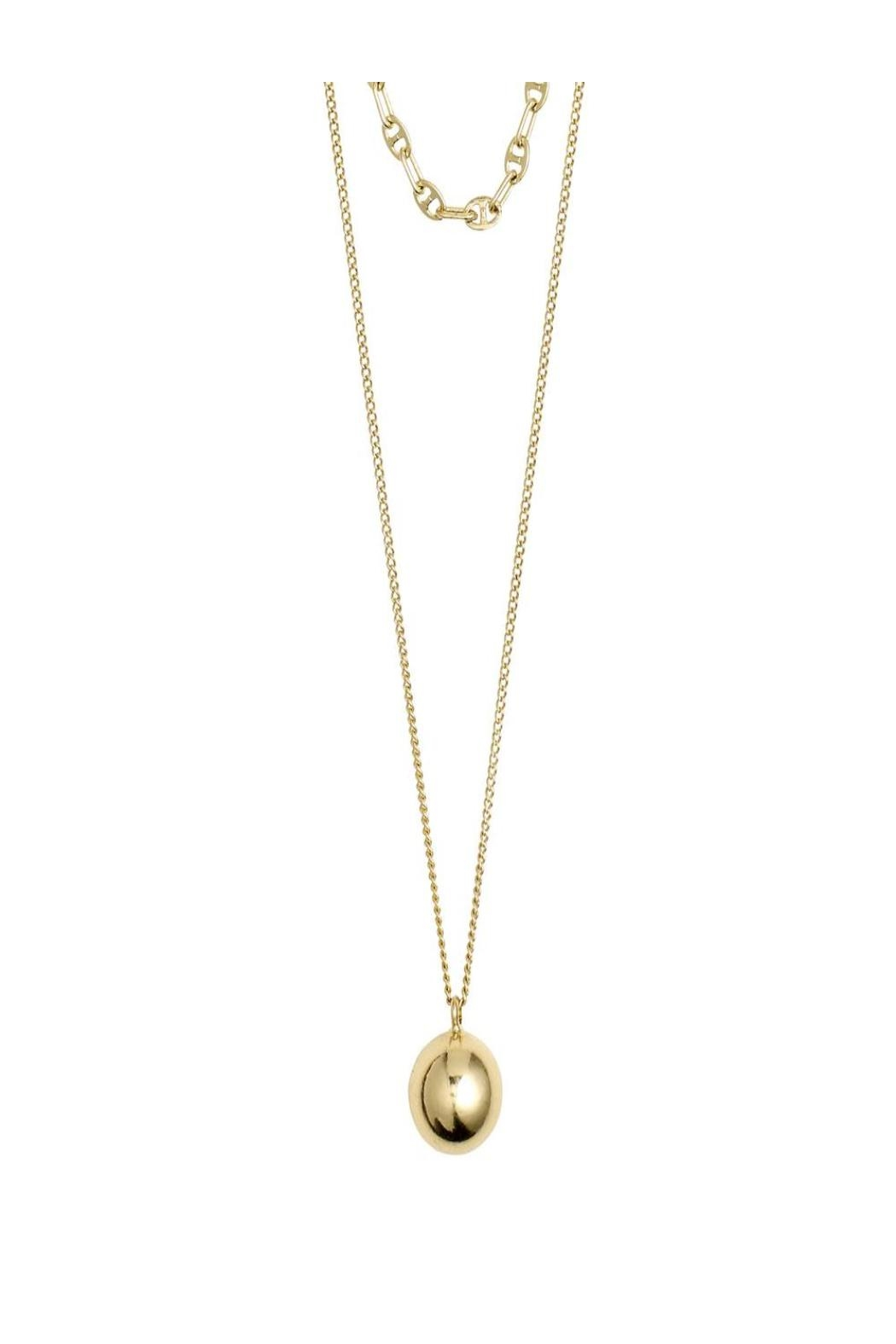 Pilgrim Earth Gold Necklace - Main Image