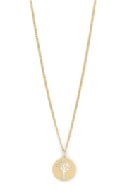 Pilgrim Elin Necklace Gold - Product Mini Image