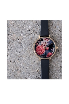 Pilgrim Floral Gold-Plated Watch - Alternate List Image