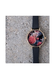 Pilgrim Floral Gold-Plated Watch - Back cropped