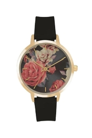 Pilgrim Floral Gold-Plated Watch - Product Mini Image