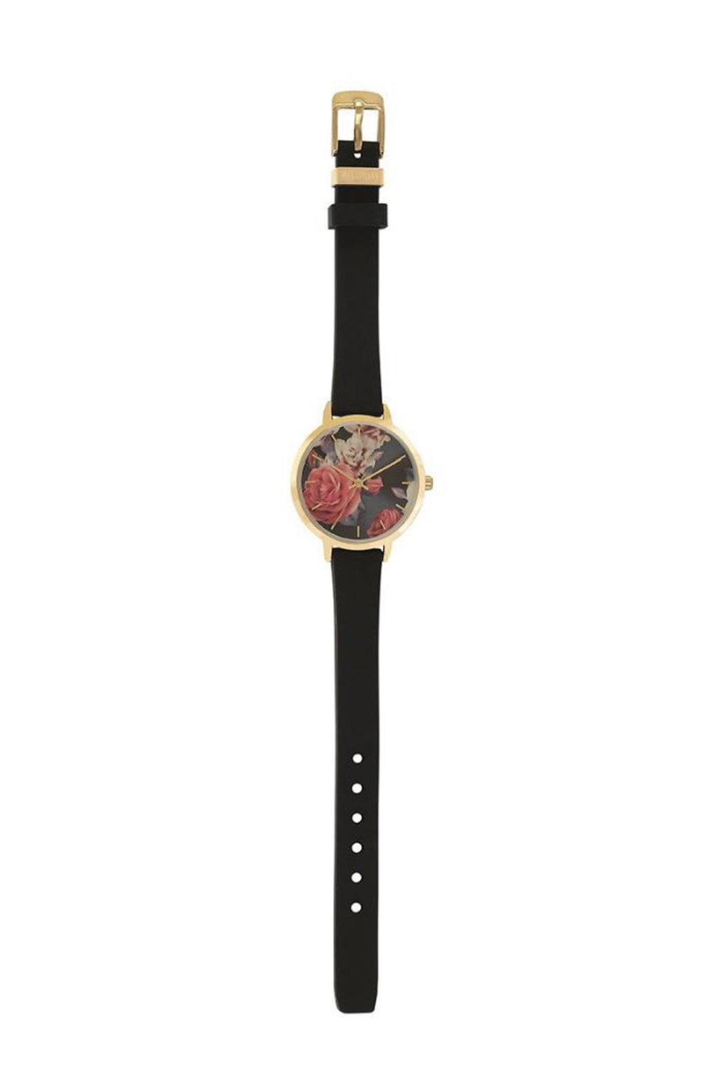 Pilgrim Floral Gold-Plated Watch - Side Cropped Image