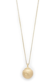 Pilgrim Berta Globe Necklace - Front cropped