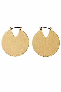 Shoptiques Product: Gold Tribal Earrings