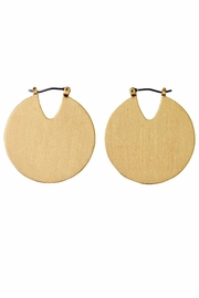 Pilgrim Gold Tribal Earrings - Product Mini Image