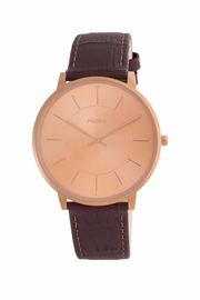Pilgrim Jackie Leather-Band Watch - Product Mini Image