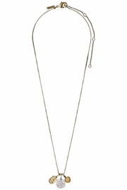 Pilgrim Karma Fortune Necklace - Front cropped