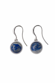 Pilgrim Lapis Lazuli Earrings - Product Mini Image