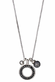 Pilgrim Riona Silver-Plated Necklace - Product Mini Image