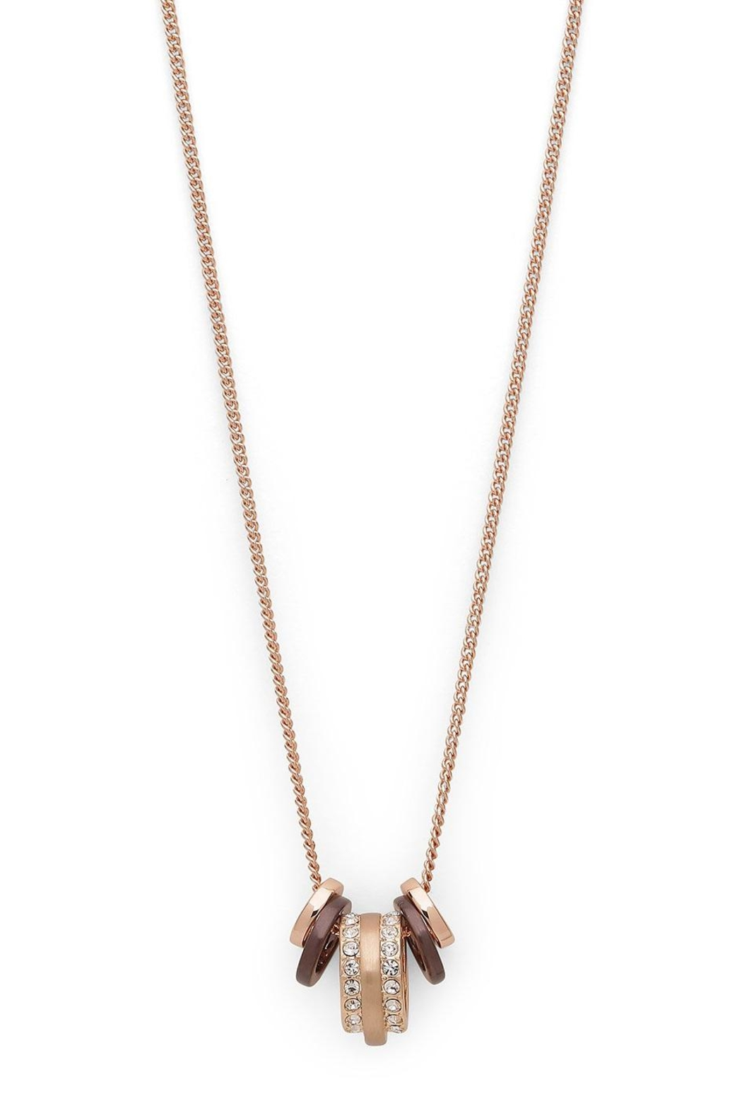 Pilgrim Rose-Gold Necklace - Front Cropped Image