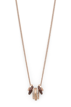Pilgrim Rose-Gold Necklace - Product List Image
