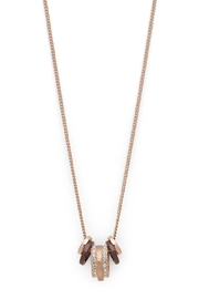 Pilgrim Rose-Gold Necklace - Front cropped