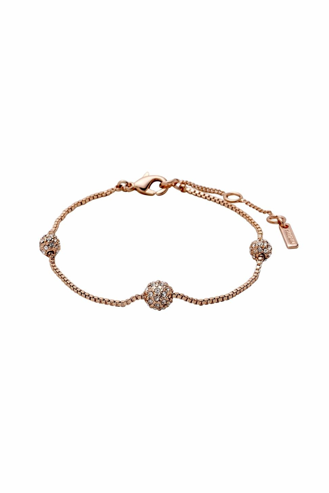 Pilgrim Rose Gold-Plated Bracelet - Main Image